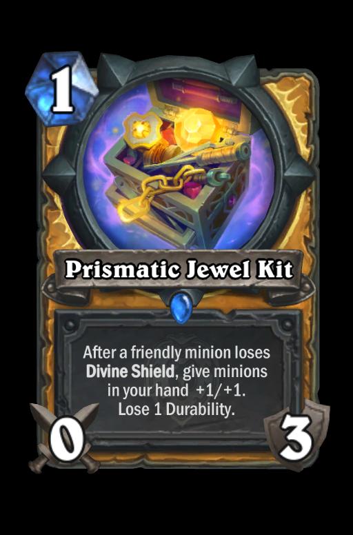Prismatic Jewel Kit Hearthstone kártya