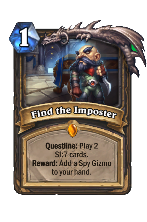 Find the Imposter Hearthstone kártya