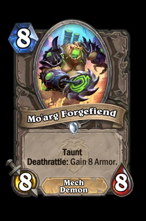 Mo'arg Forgefiend Hearthstone kártya