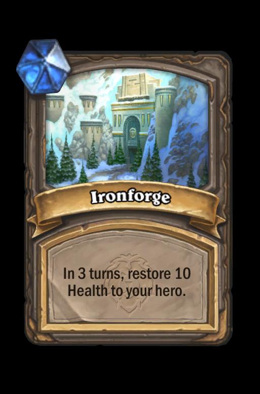 Ironforge Hearthstone kártya