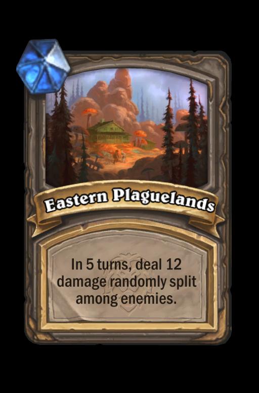Eastern Plaguelands Hearthstone kártya