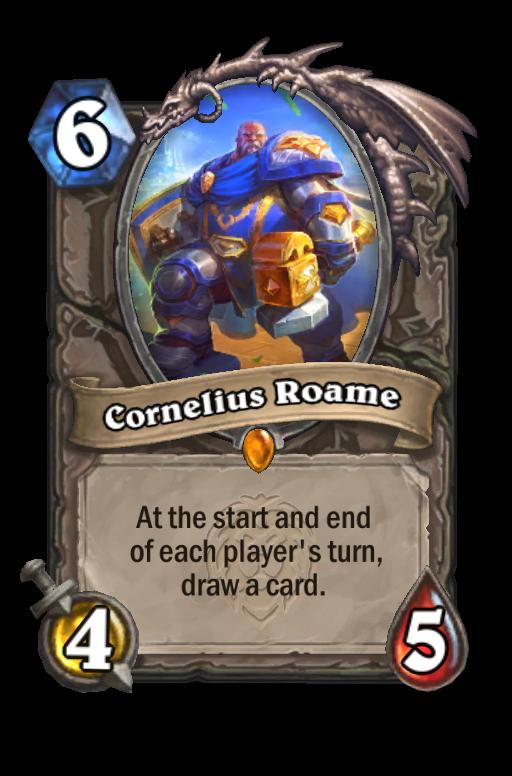 Cornelius Roame Hearthstone kártya