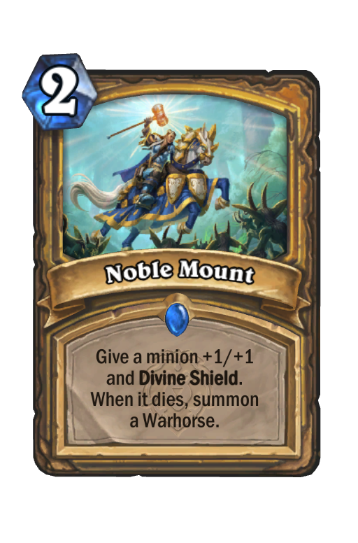 Noble Mount Hearthstone kártya