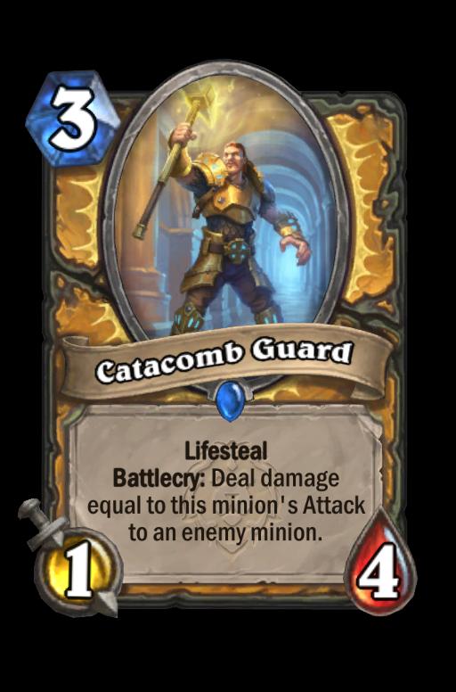 Catacomb Guard Hearthstone kártya