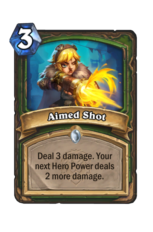 Aimed Shot Hearthstone kártya