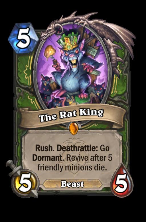 The Rat King Hearthstone kártya