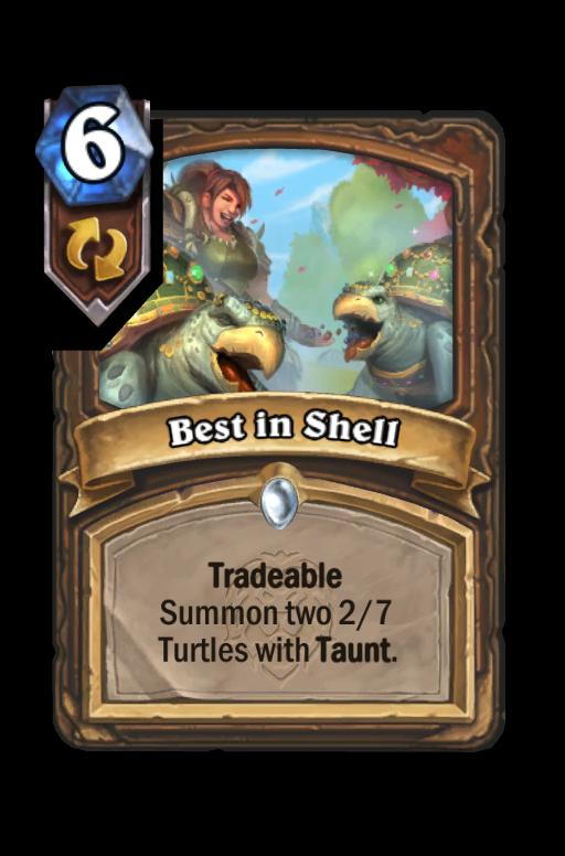 Best in Shell Hearthstone kártya