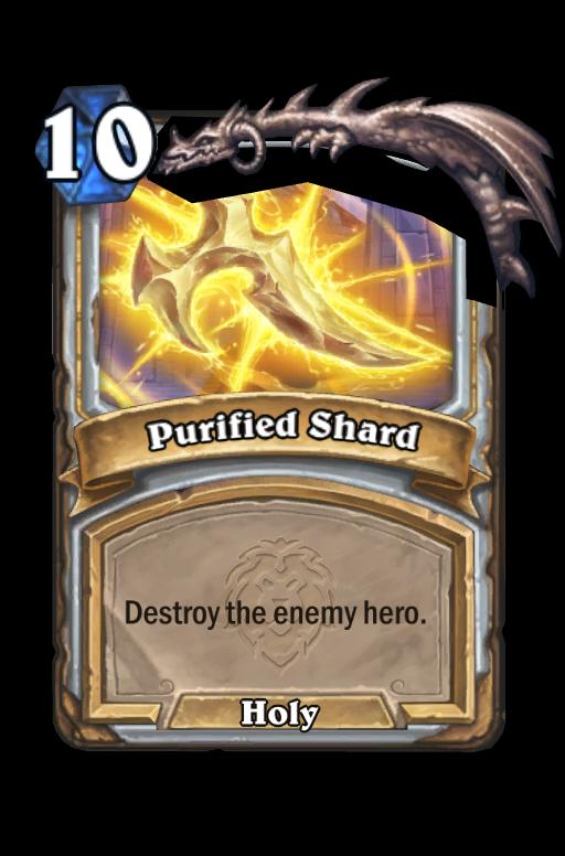 Purified Shard Hearthstone kártya