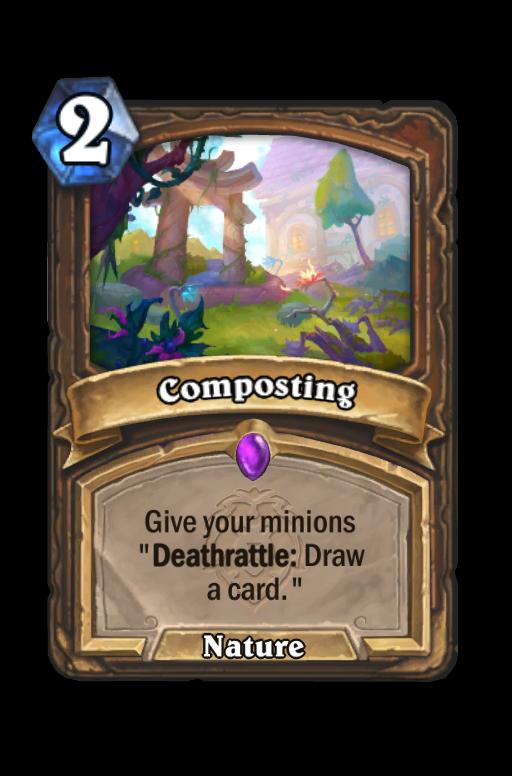 Composting Hearthstone kártya
