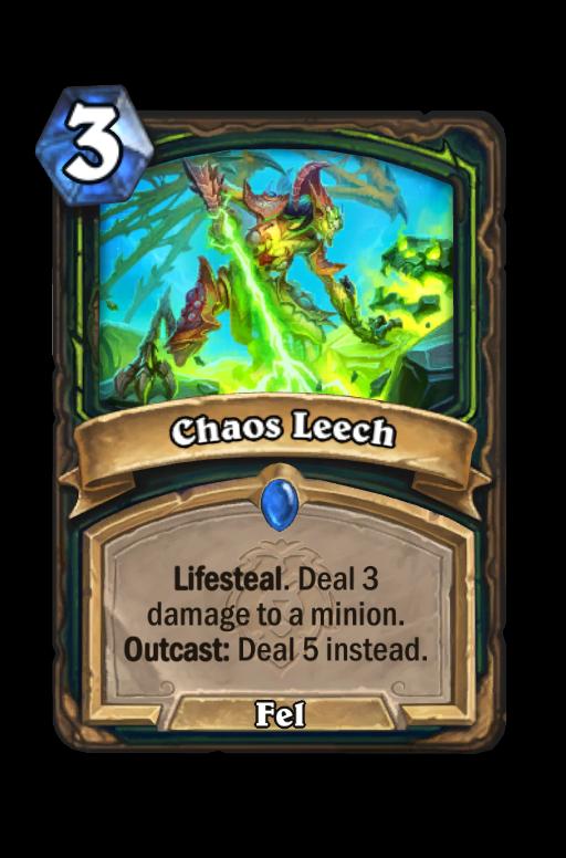 Chaos Leech Hearthstone kártya