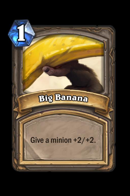 big banana hearthstone kártya