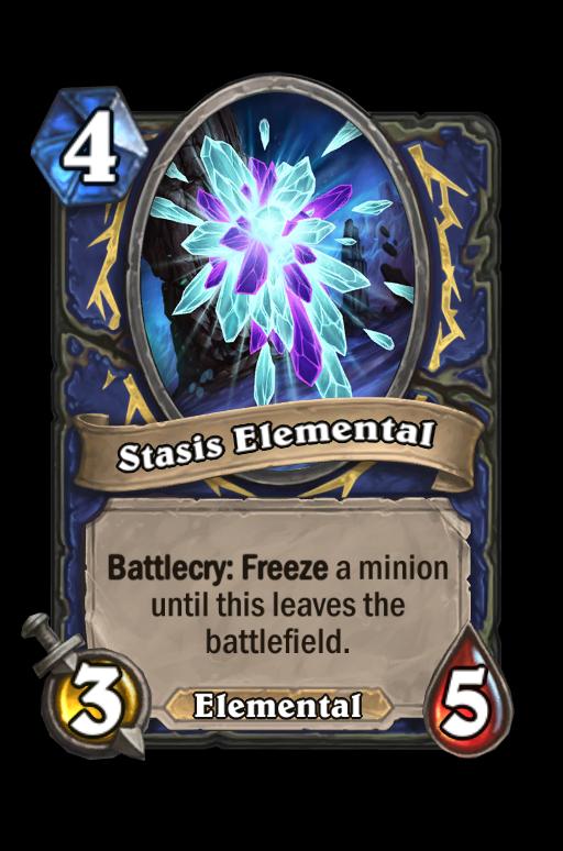 Stasis Elemental