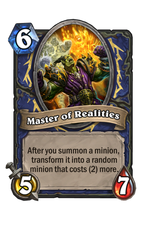 Master of Realities