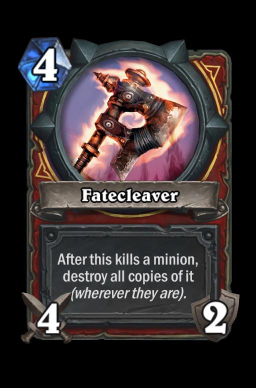 Fatecleaver