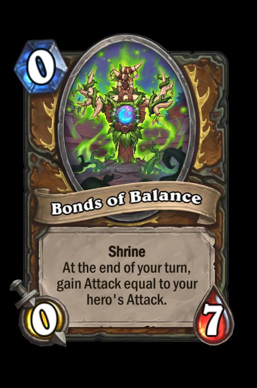 Bonds of Balance Hearthstone kártya