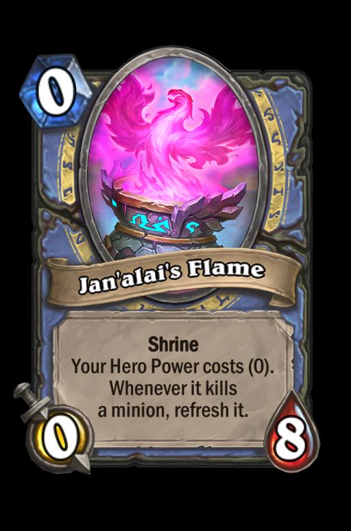 Jan'alai's Flame Hearthstone kártya