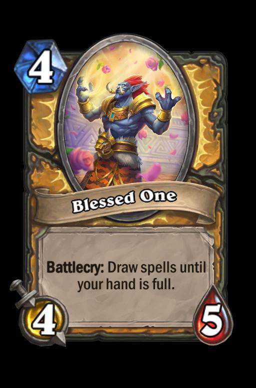 Blessed One Hearthstone kártya