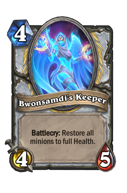 Bwonsamdi's Keeper Hearthstone kártya