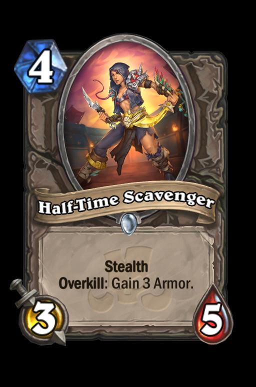 Half-Time Scavenger Hearthstone kártya
