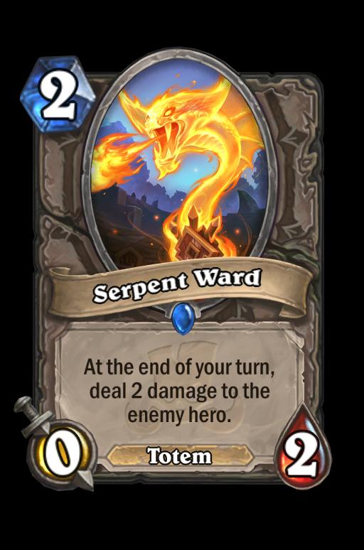Serpent Ward Hearthstone kártya