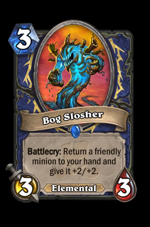 Bog Slosher Hearthstone kártya