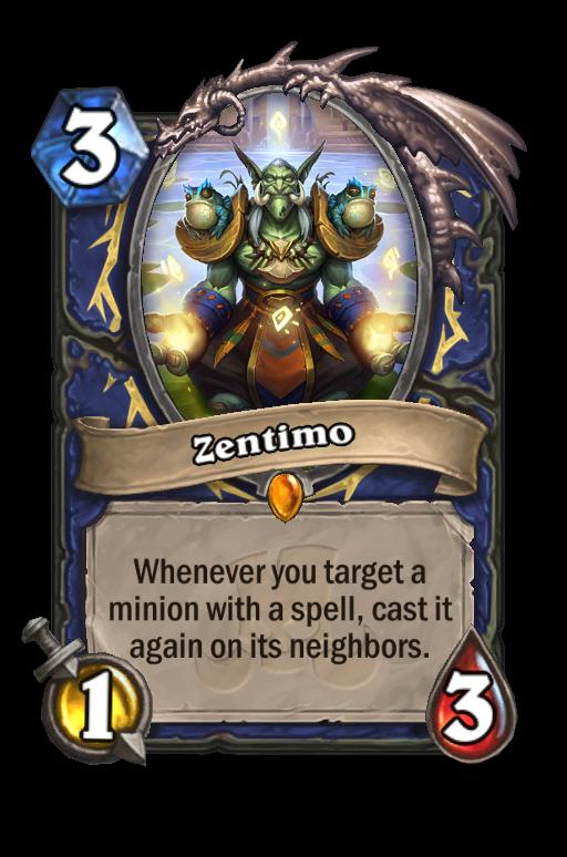Zentimo Hearthstone kártya