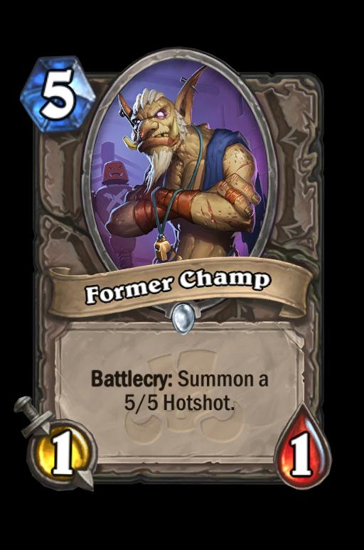 Former Champ Hearthstone kártya