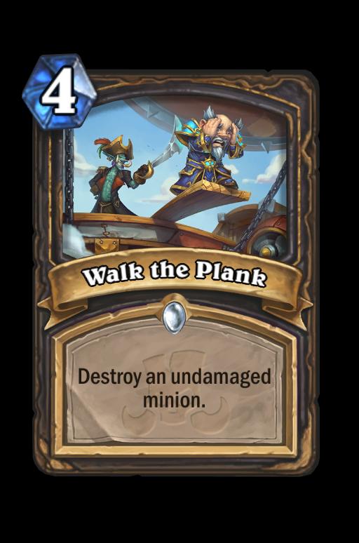 Walk the Plank Hearthstone kártya
