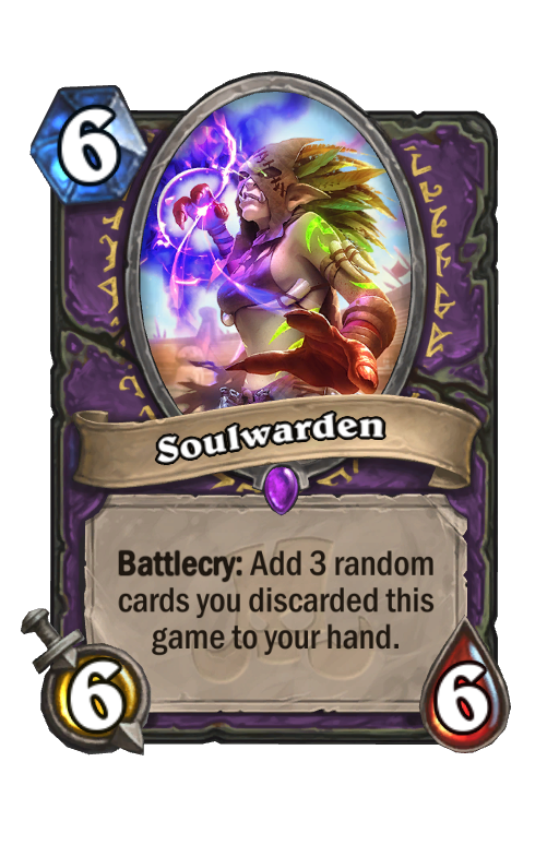 Soulwarden Hearthstone kártya