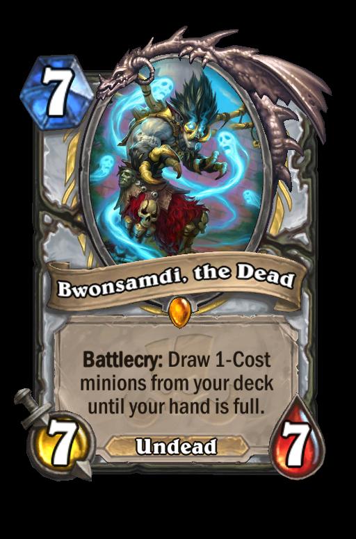 Bwonsamdi the Dead Hearthstone kártya