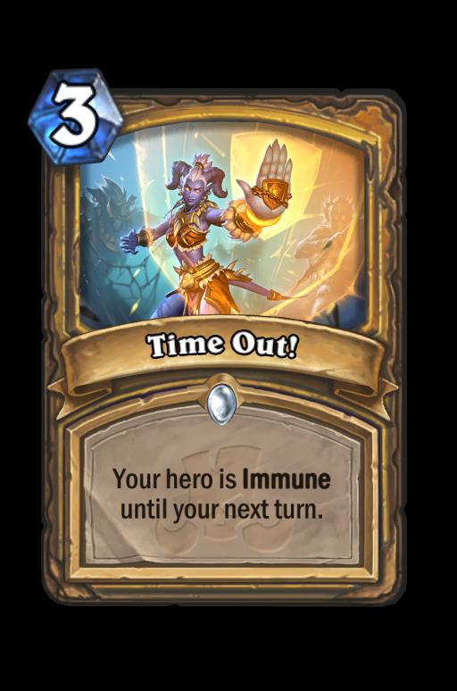 Time Out! Hearthstone kártya