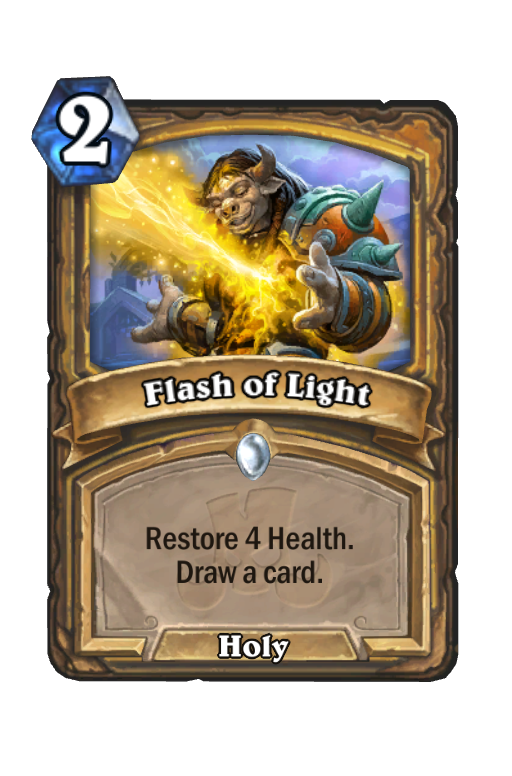 Flash of Light Hearthstone kártya
