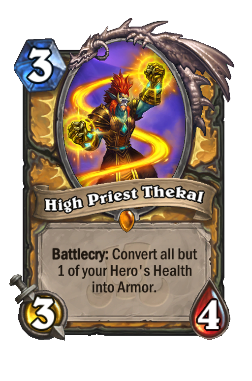 High Priest Thekal Hearthstone kártya
