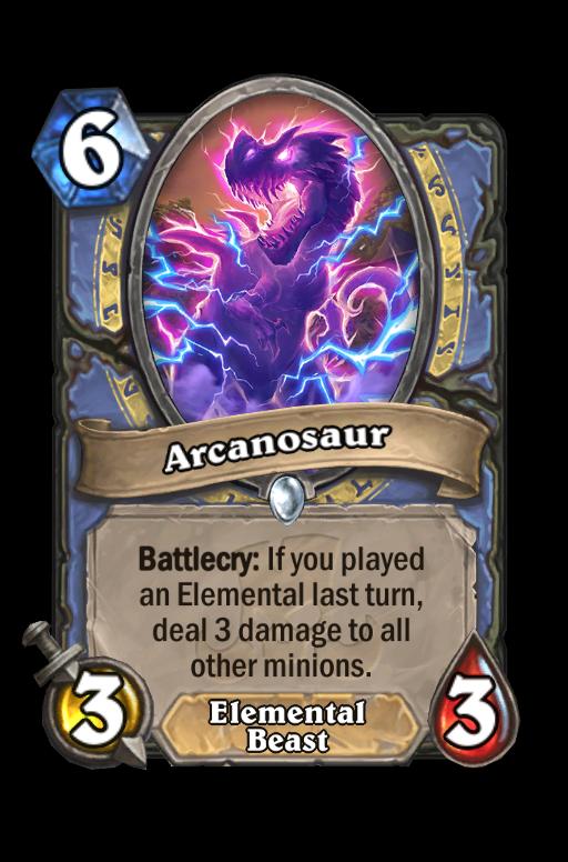 Arcanosaur Hearthstone kártya