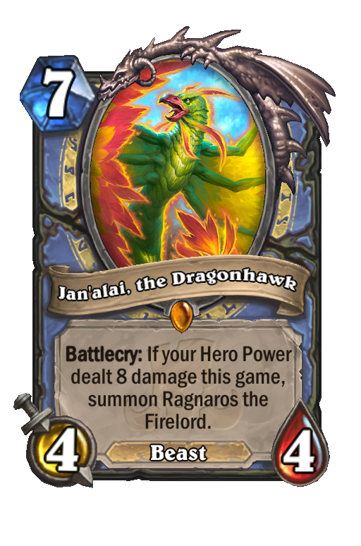 Jan'alai, the Dragonhawk Hearthstone kártya