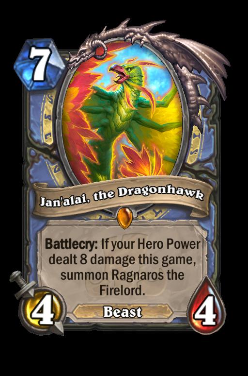 Jan'alai, the Dragonhawk Hearthstone kártya
