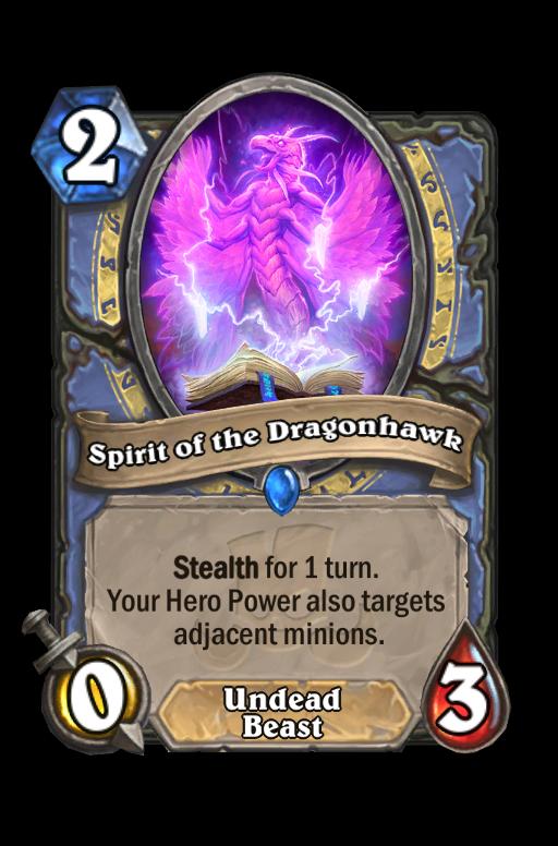 Spirit of the Dragonhawk Hearthstone kártya