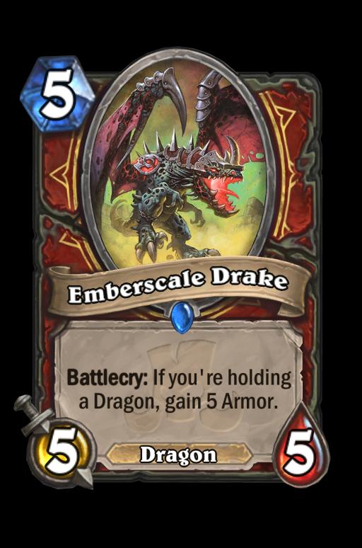 Emberscale Drake Hearthstone kártya
