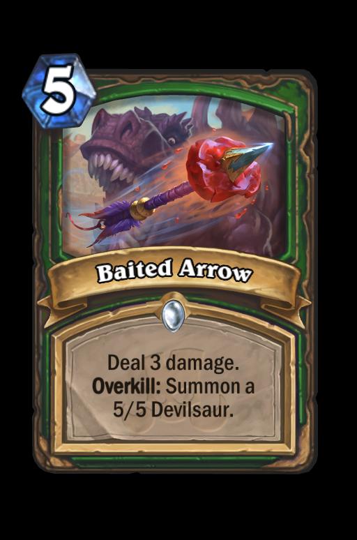 Baited Arrow Hearthstone kártya