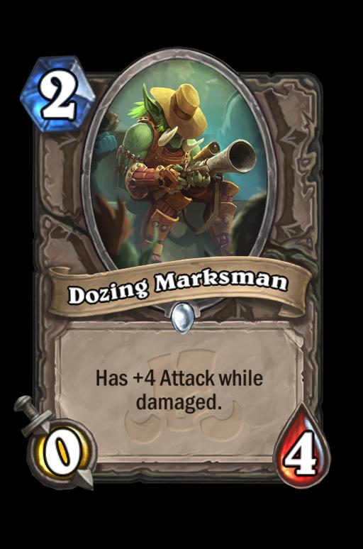 Dozing Marksman Hearthstone kártya