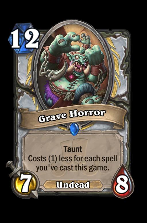 Grave Horror Hearthstone kártya