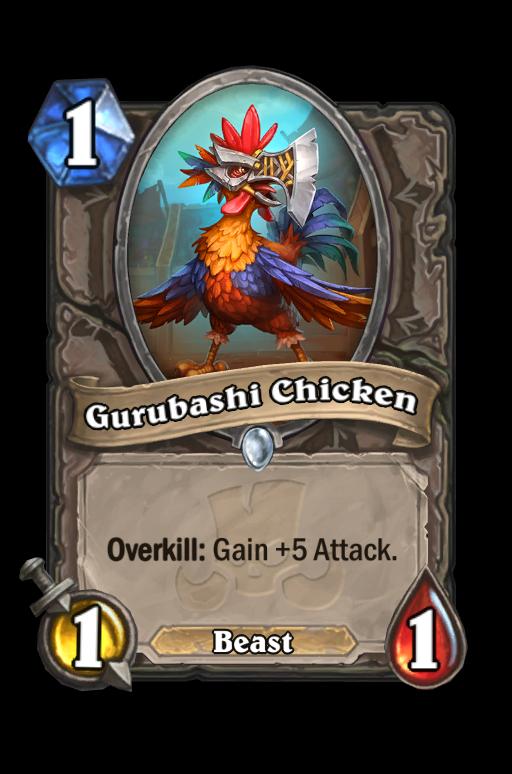 Gurubashi Chicken Hearthstone kártya
