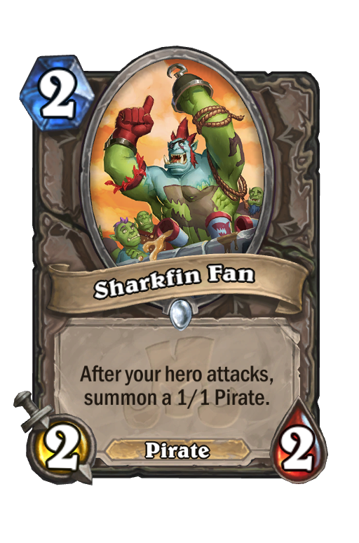 Sharkfin Fan Hearthstone kártya
