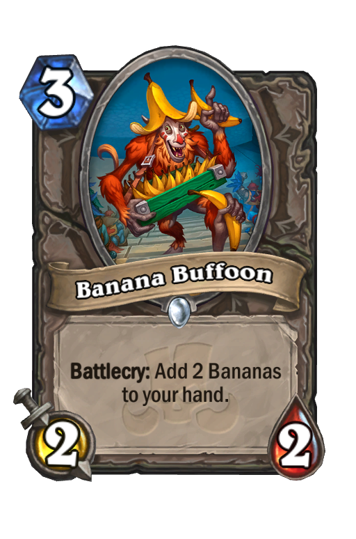 Banana Buffoon Hearthstone kártya