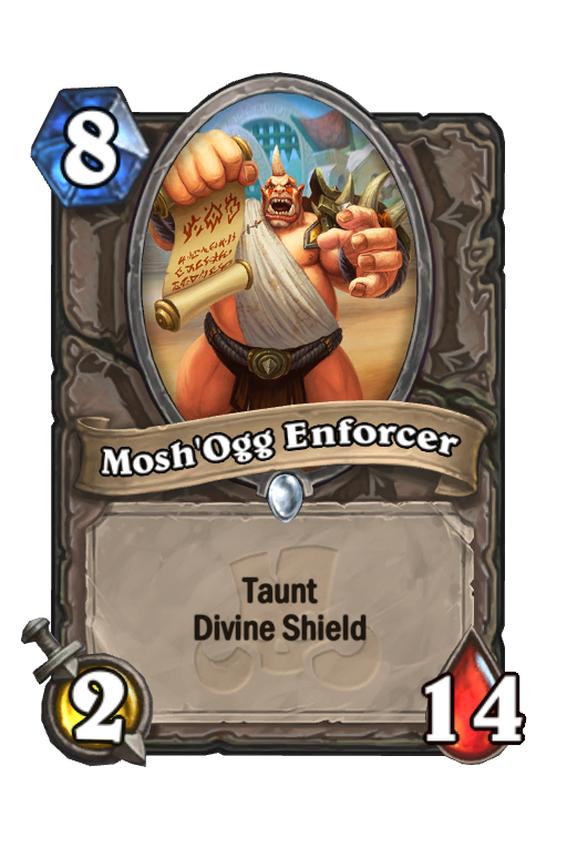 Mosh'ogg Enforcer Hearthstone kártya