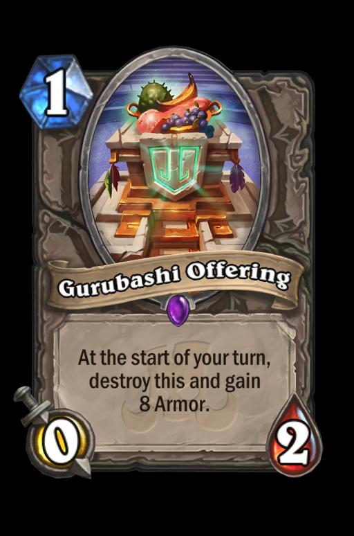 Gurubashi Offering Hearthstone kártya