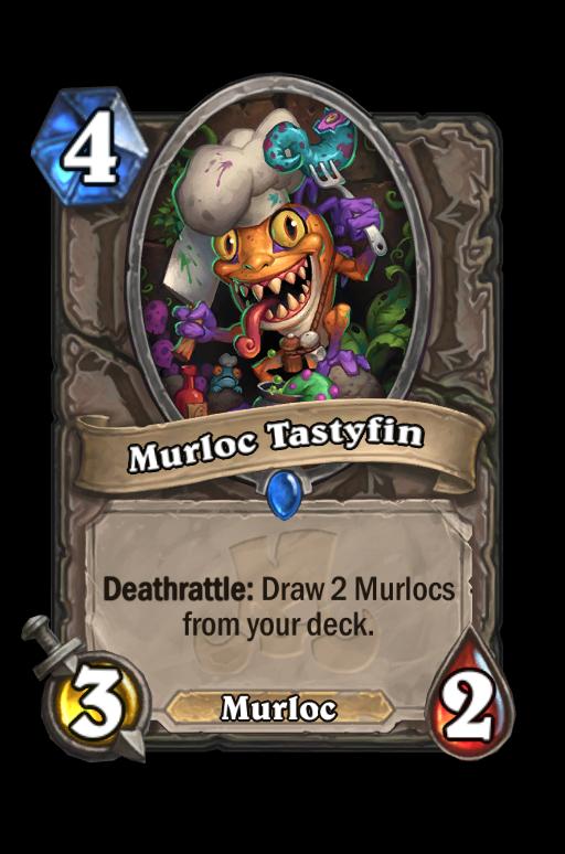 Murloc Tastyfin Hearthstone kártya