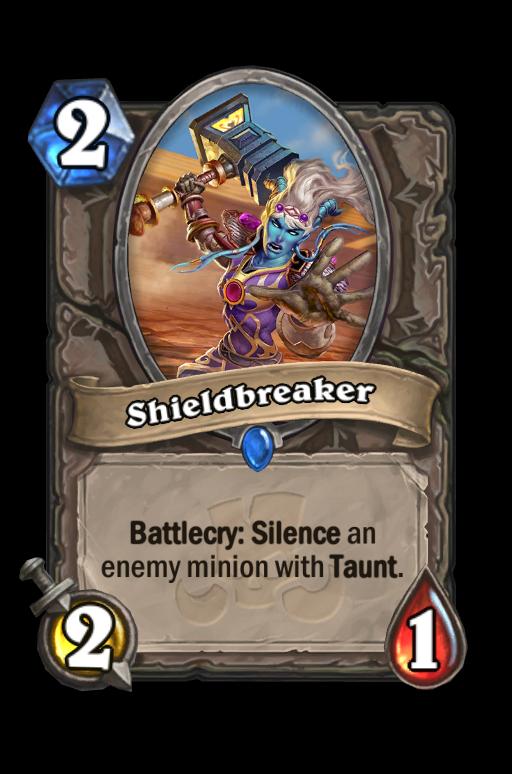 Shieldbreaker Hearthstone kártya