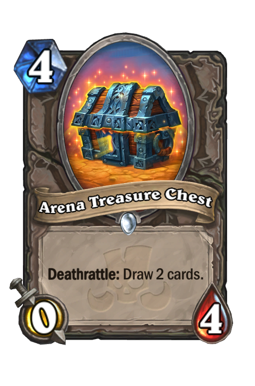 Arena Treasure Chest Hearthstone kártya