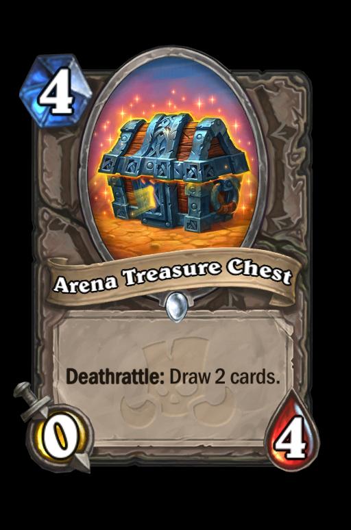 Arena Treasure Chest Hearthstone kártya